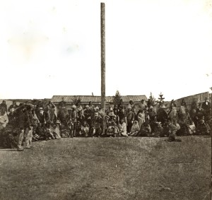 The Terry Commission with Sitting Bull and Sioux Indians at Fort Walsh 1877