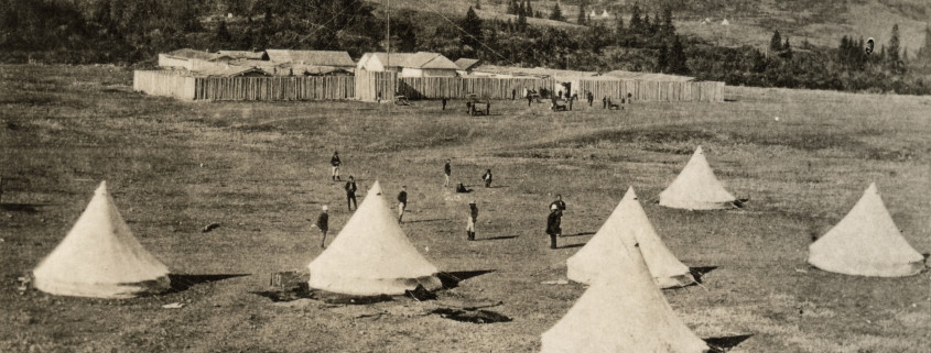 North West Mounted Police Fort Walsh 1878