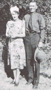 Frances (Ma Pat) and George Paterson 1938